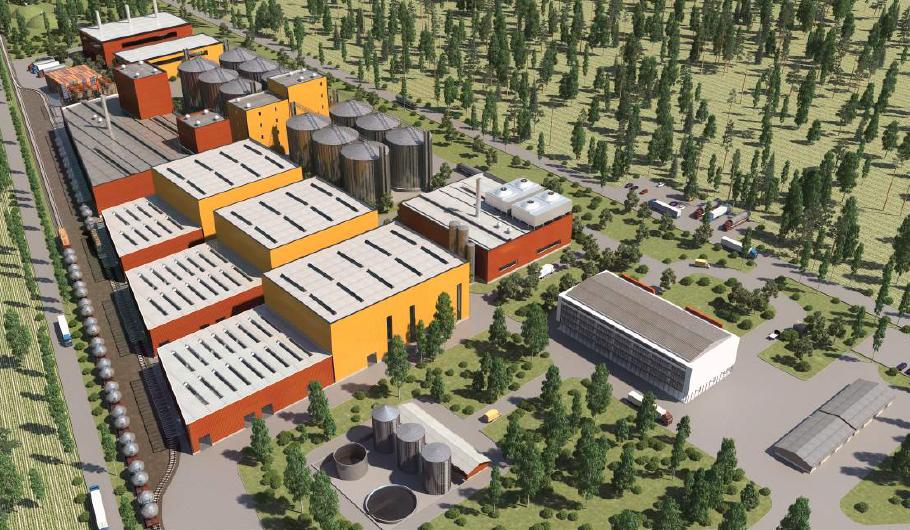 Проект завод по производству лизина