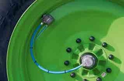 Регулирование давления в шинах