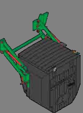 Смесительный центр и инжектор опрыскивателя